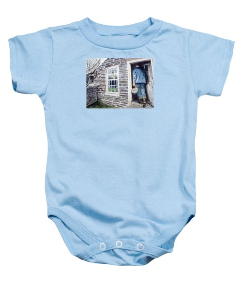 Country Breakfast Baby Onesie