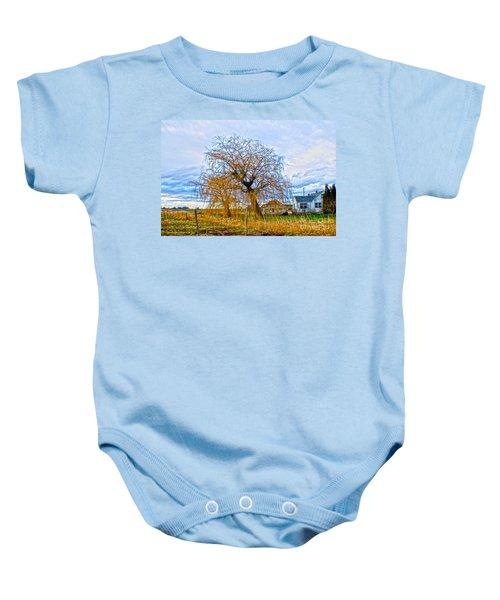 Country Life Artististic Rendering Baby Onesie