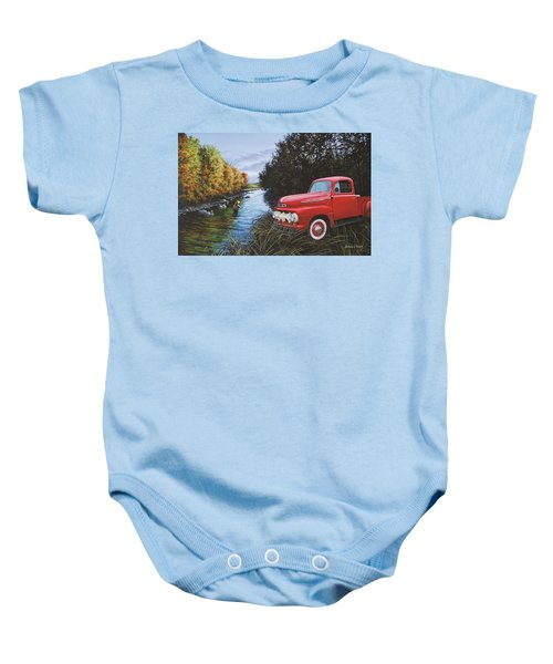 Couple Of Old Timers Baby Onesie