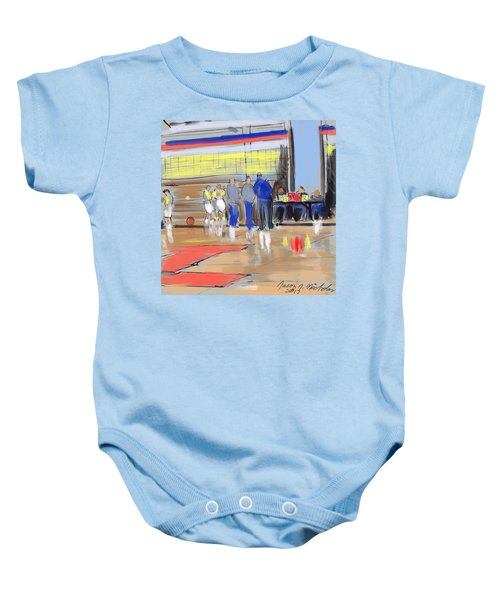 Court Side Conference Baby Onesie