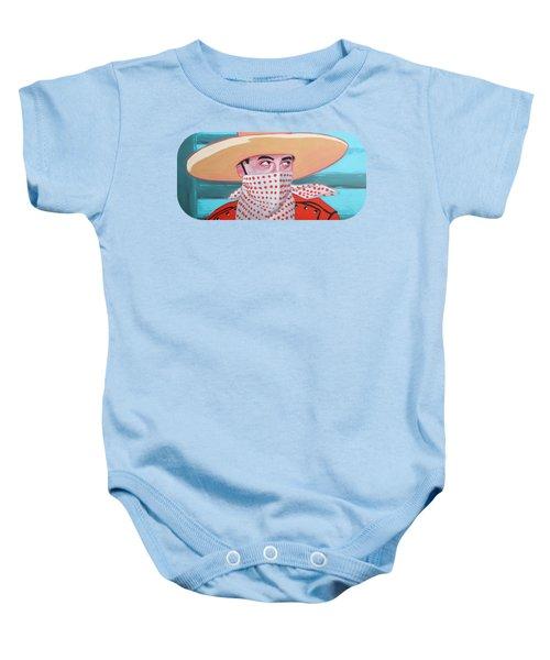 Cowboy Peewee Baby Onesie