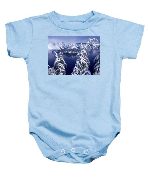 Crater Lake Baby Onesie