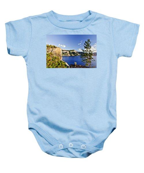 Crater Lake II Baby Onesie