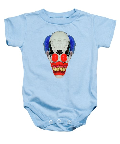 Creepy Clown Baby Onesie