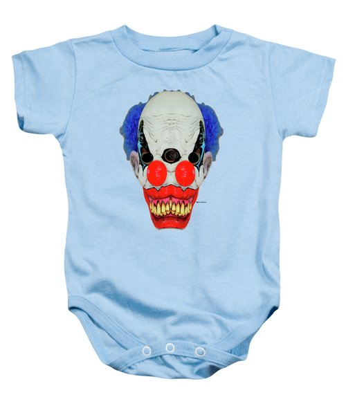 Creepy Clown Baby Onesie