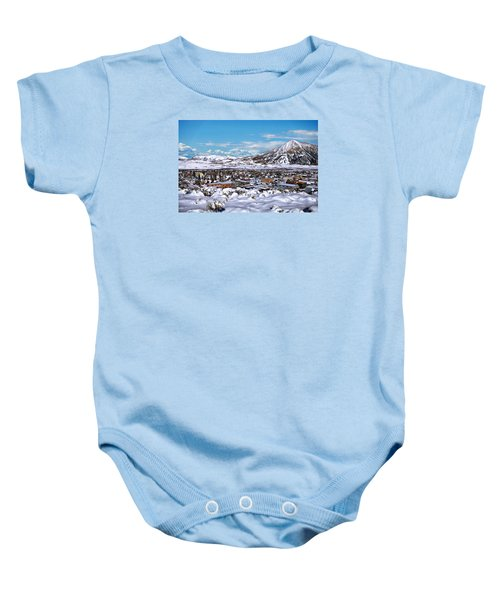 Crested Butte Panorama Baby Onesie