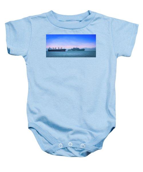 Crossing Alcatraz Baby Onesie