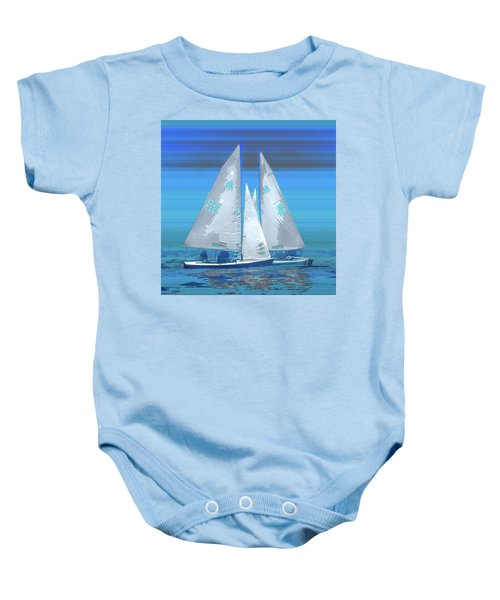 Crossing Baby Onesie