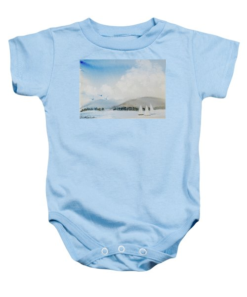 Cruising In Company Along The Tasmania Coast  Baby Onesie