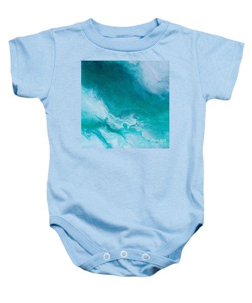 Crystal Wave14 Baby Onesie
