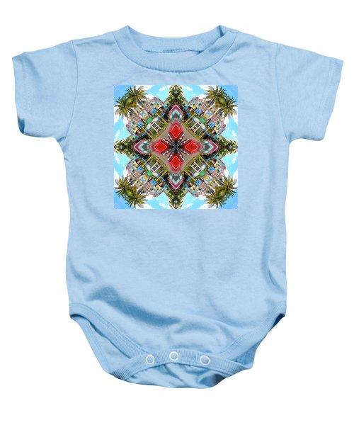 Cuban Kaleidoscope Baby Onesie