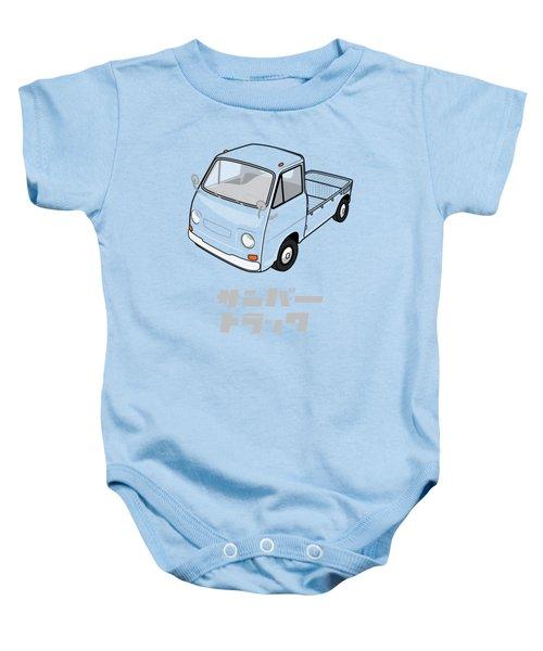 Custom Color Subaru Sambar Truck Baby Onesie