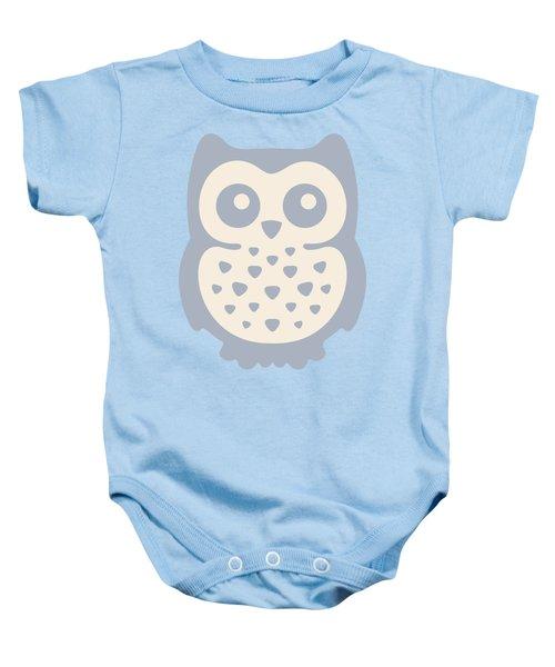 Cute Owl Baby Onesie