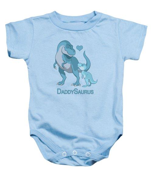 Daddy Tyrannosaurus Rex Baby Boy Baby Onesie