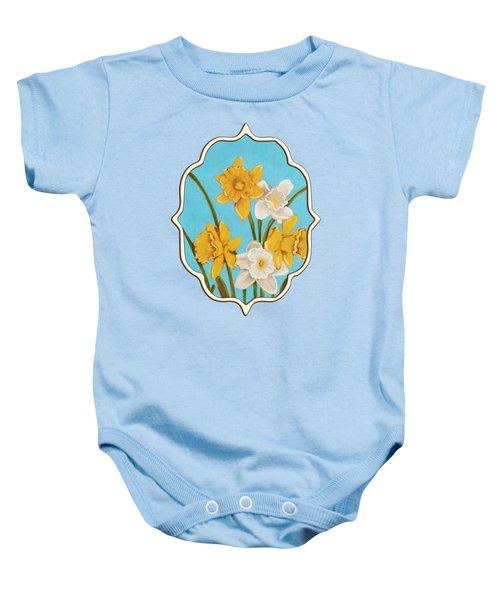 Daffodils Baby Onesie