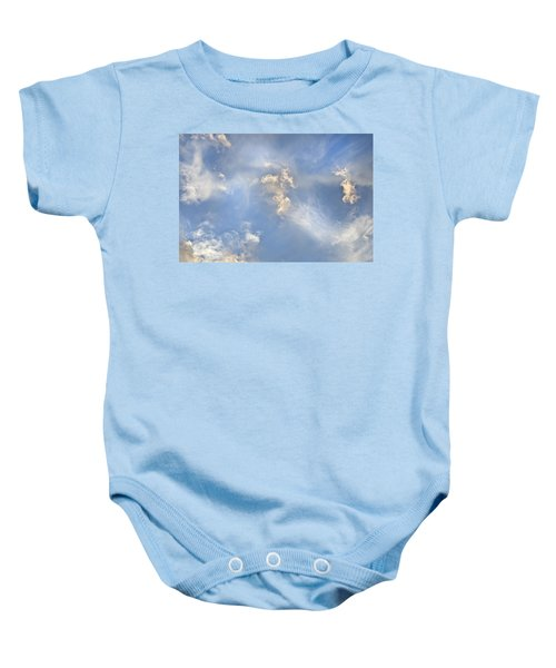 Dancing Clouds Baby Onesie