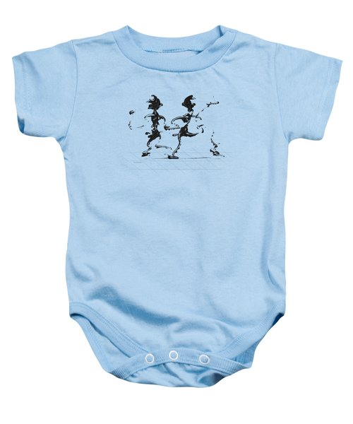 Dancing Couple 3 Baby Onesie