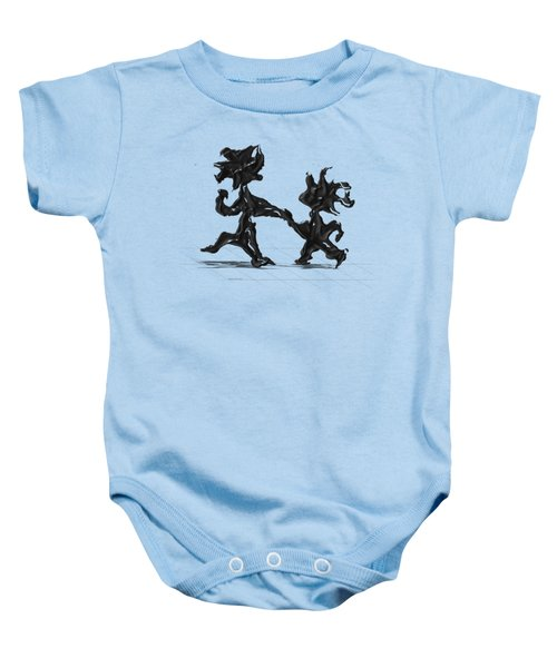 Dancing Couple 6 Baby Onesie