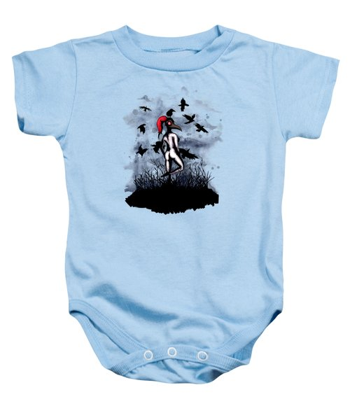 Dancing With Crows Baby Onesie