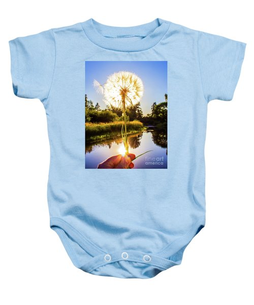 Dandy Lion Baby Onesie