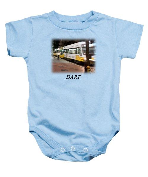 Dart V2 T-shirt Baby Onesie by Rospotte Photography