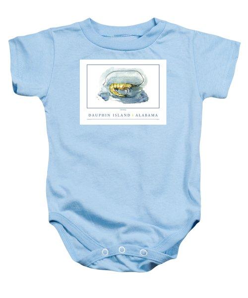 Dauphin Island, Alabama Baby Onesie