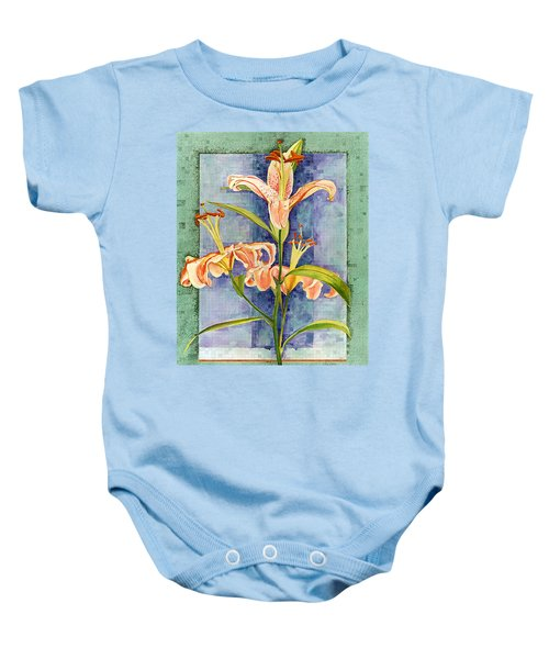 Day Lily Baby Onesie