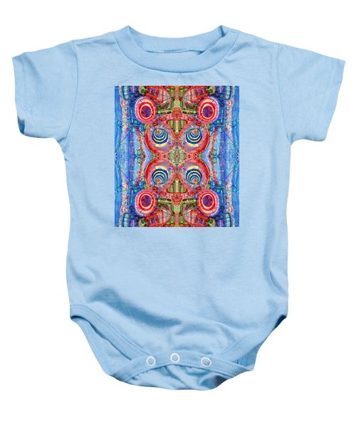 Deep Dream Tweedledee Baby Onesie