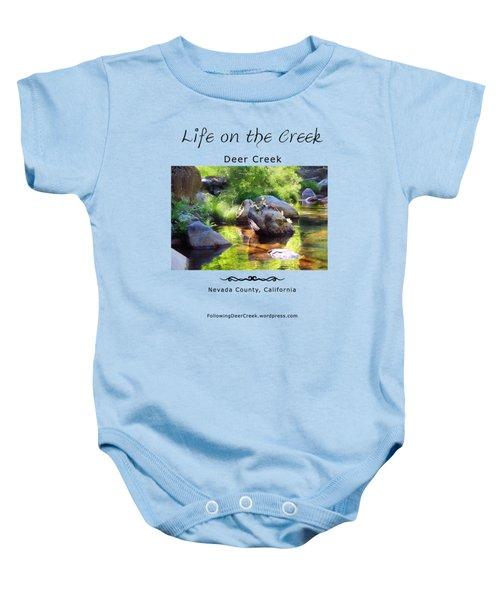 Deer Creek Ferns Baby Onesie