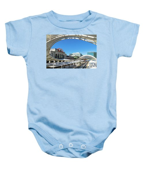 Denver Co Union Station Baby Onesie