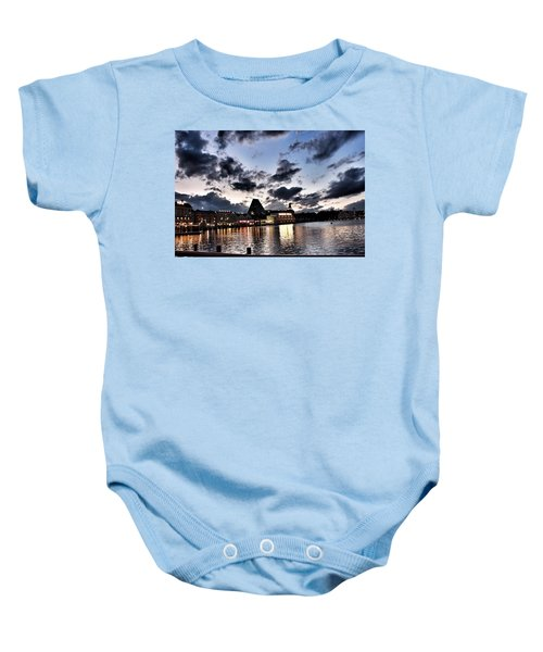 Disney Boardwalk Sunset Baby Onesie