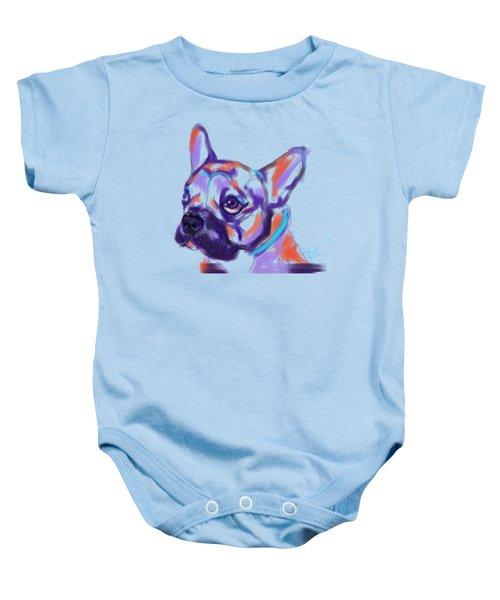 Dog Reggie Baby Onesie