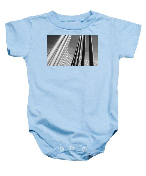 Domino Effect Baby Onesie