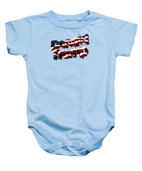 Donald Trump Baby Onesie