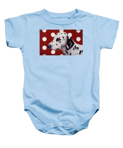 Dots And Spots... Baby Onesie