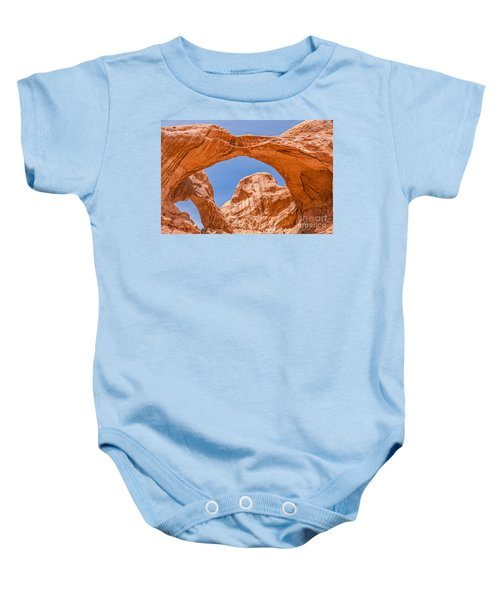 Double Arch At Arches National Park Baby Onesie