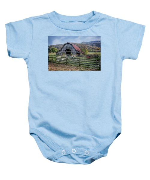 Down In The Valley Baby Onesie