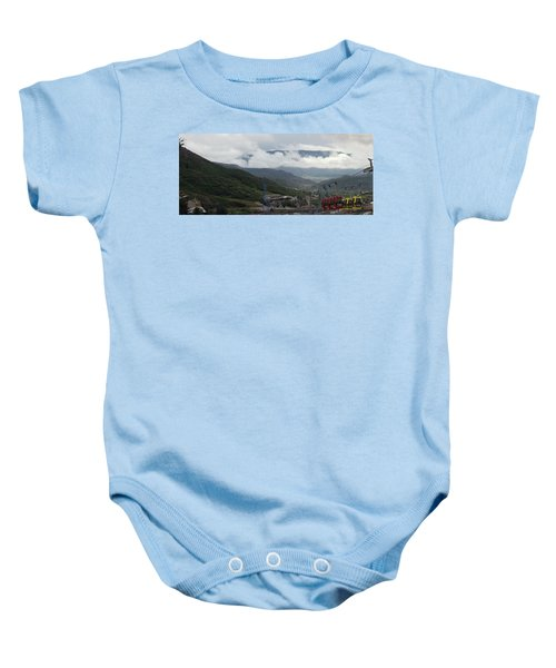 Down The Valley At Snowmass #3 Baby Onesie