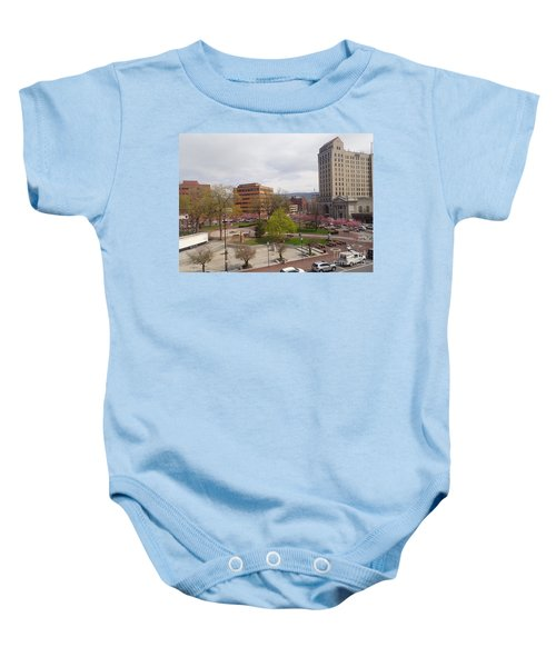 Downtown In Springtime Baby Onesie