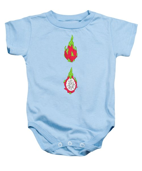 Dragon Fruit Baby Onesie