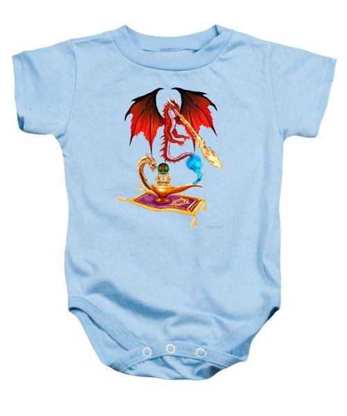 Dragon Genie Baby Onesie by Glenn Holbrook