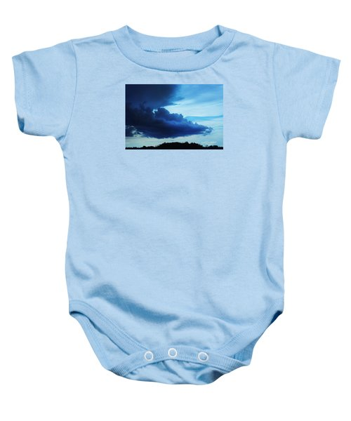 Dramatic Clouds Baby Onesie
