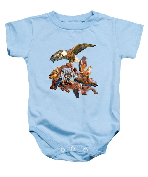 Dream Catcher - Spirit Birds Baby Onesie