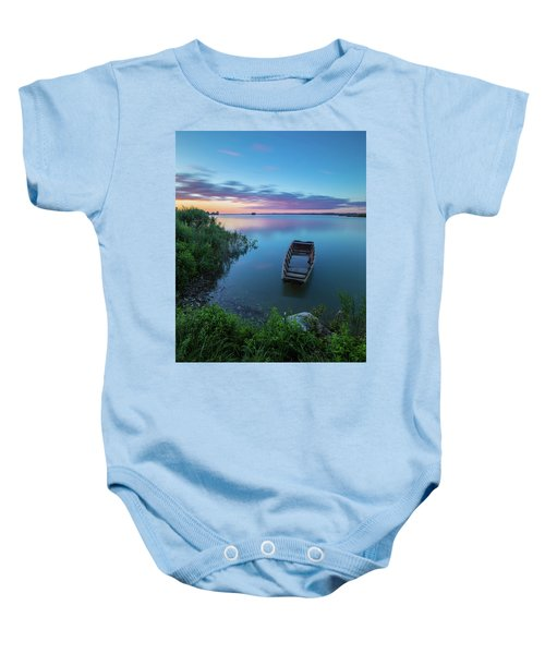 Dreamy Colors Of The East Baby Onesie