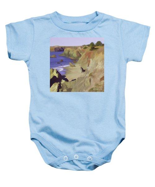 Above Bodega Baby Onesie