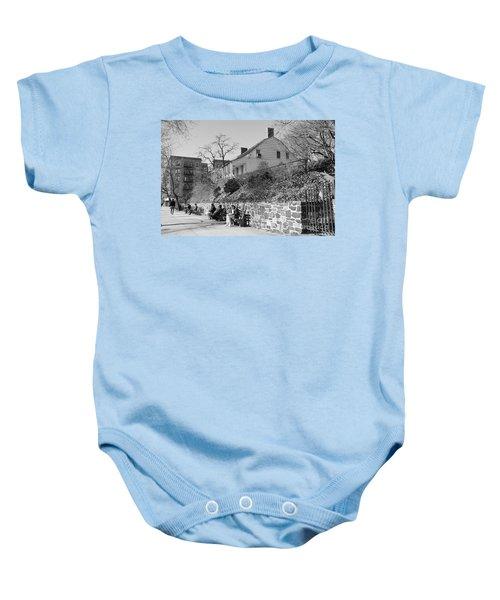 Dyckman Farmhouse  Baby Onesie
