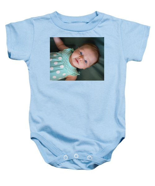 Baby Onesie featuring the photograph Early Adoration by Bill Pevlor