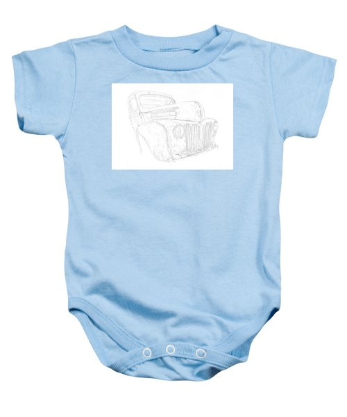 Early Ford Truck Baby Onesie