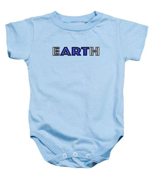 Earth Art Baby Onesie
