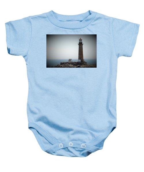 East Coast Lighthouse Baby Onesie